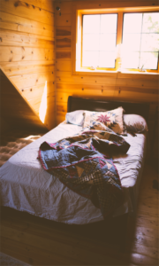 Bed Quilt Cabin