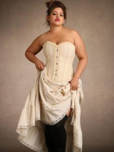 Hips & Curves Plus Size Cotton Tiered Petticoat