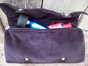 Liberator Tristan Velvish Toy Bag in Black