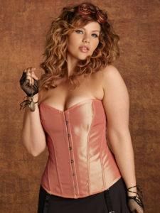 Hips & Curves Plus Size Florence Taffeta Corset