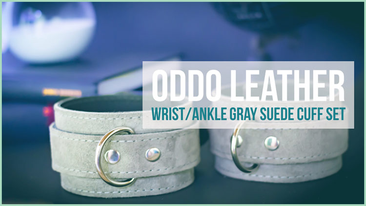 oddo leather lena cuff set