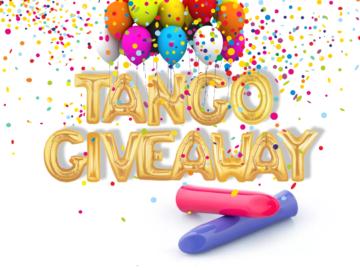 Blue We-Vibe Tango Giveaway