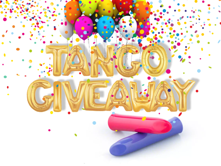Blue We-Vibe Tango Giveaway